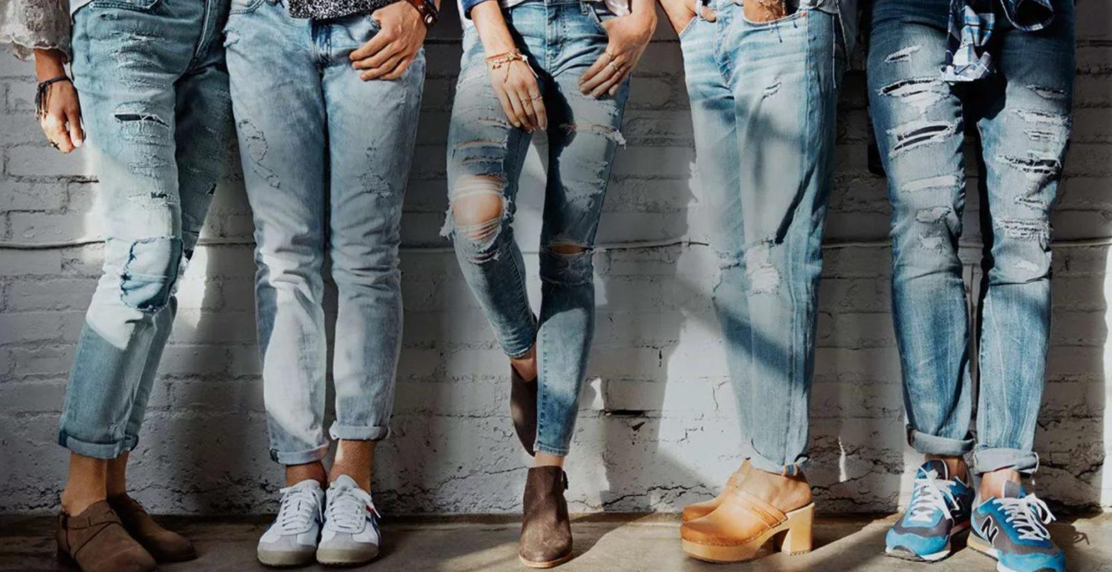 Как джинсы достигли успеха